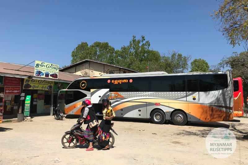 Myanmar Reisetipps | Loikaw | Busbahnhof außerhalb vom Zentrum