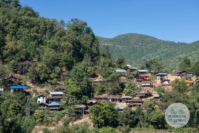Myanmar Reisetipps | Loikaw | Htay Kho liegt auf einer Höhe von 1.733 Meter
