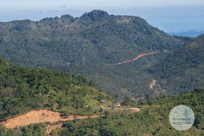 Myanmar Reisetipps | Loikaw | Auf dem Weg nach Htay Kho