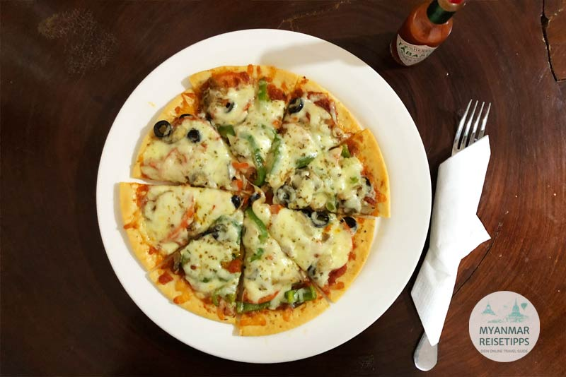 Myanmar Reisetipps | Loikaw | Pizza wie beim Italiener