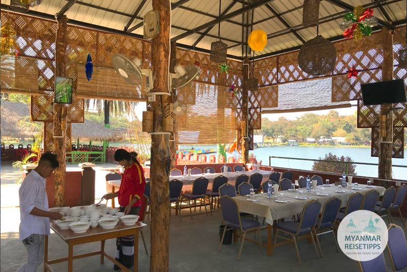 Myanmar Reisetipps | Loikaw | Restaurant Red Dynasty