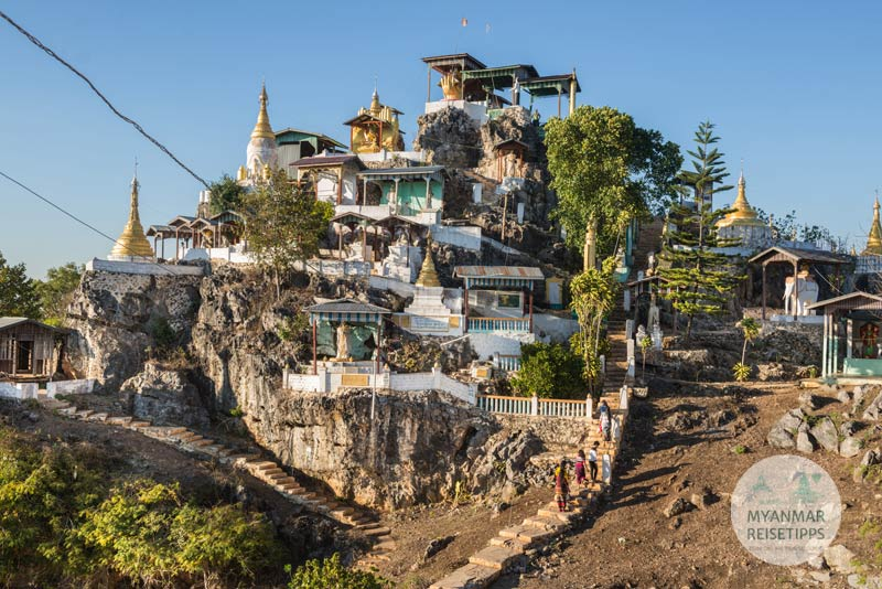 Myanmar Reisetipps | Loikaw | Pagode Shwe Latt War