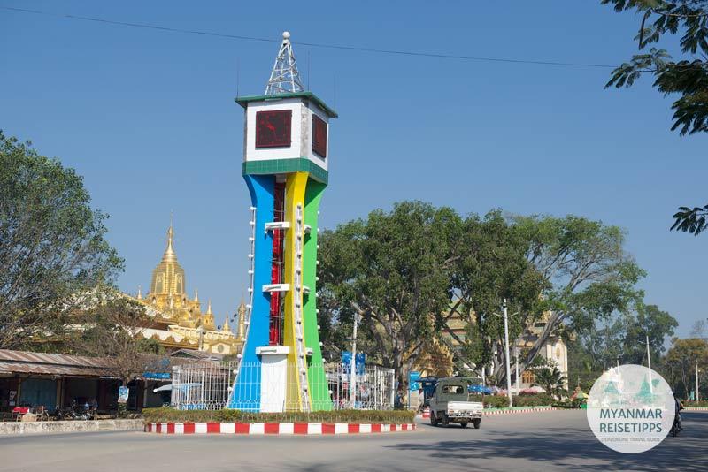 Myanmar Reisetipps | Loikaw | Uhrturm