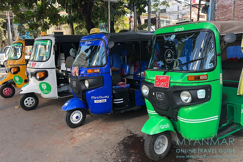 Myanmar Reisetipps | Mandalay | Bajaj Tuk-Tuk