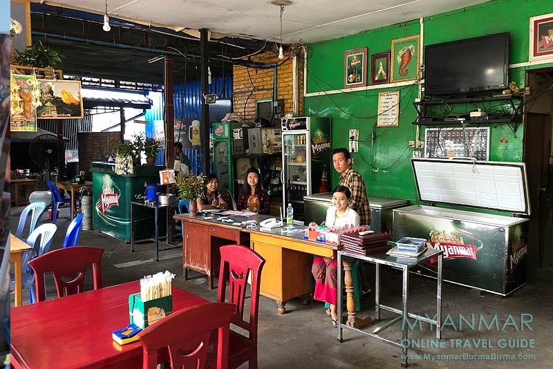 Myanmar Reisetipps | Mandalay | BBQ & Restaurant Shwe Let Yar