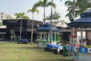 Myanmar Reisetipps | Mawlamyaing | The Cargo Bar & Grill am Riverside Centre@Yarmanya