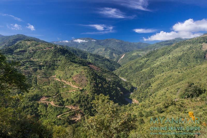 Myanmar Reisetipps | Mindat | Tal des Flusses Chit Chaung