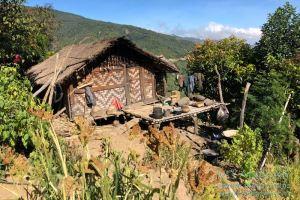Myanmar Reisetipps | Mindat | Typisches Haus in Kaye Do