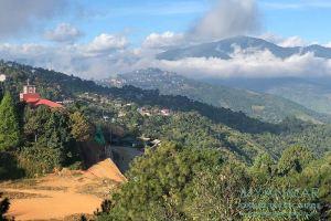 Myanmar Reisetipps | Mindat | Ausblick vom Hotel Mindat