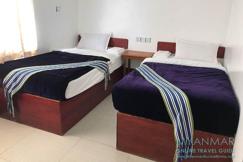 Myanmar Reisetipps | Mindat | Zimmer im Hotel Mindat