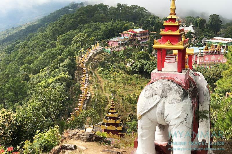 Myanmar Reisetipps | Mindat | Kloster Taung Pu Lu