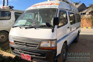 Myanmar Reisetipps | Mindat | Minibus von Mindat nach Pakokku