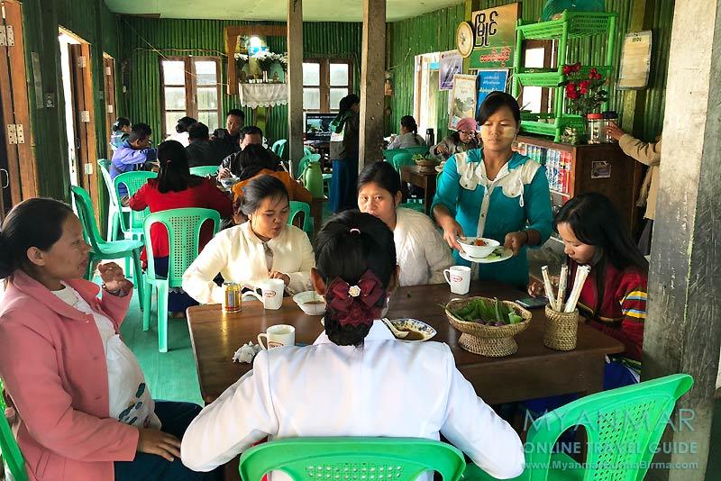 Myanmar Reisetipps | Mindat | Myaing Restaurant