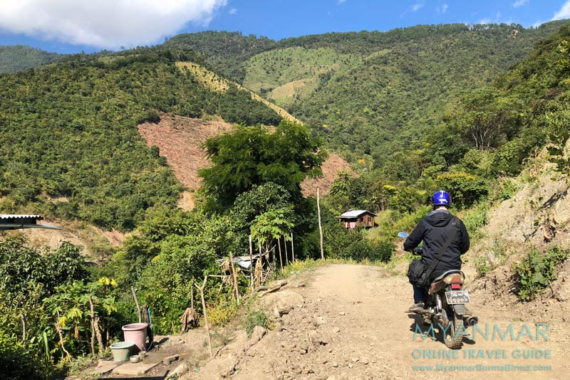 Myanmar Reisetipps | Mindat | Piste zum Chin-Dorf An Laung
