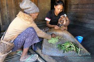 Myanmar Reisetipps | Mindat | In Pan Awet leben die Muun, eine Untergruppe der Chin-Ethnie.