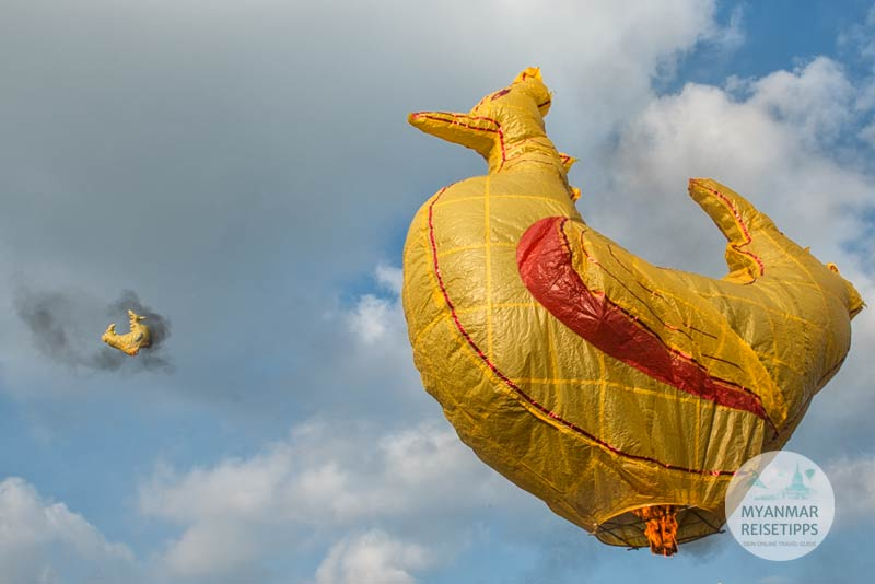 Myanmar Reisetipps   Ballonfestival in Pyin U Lwin