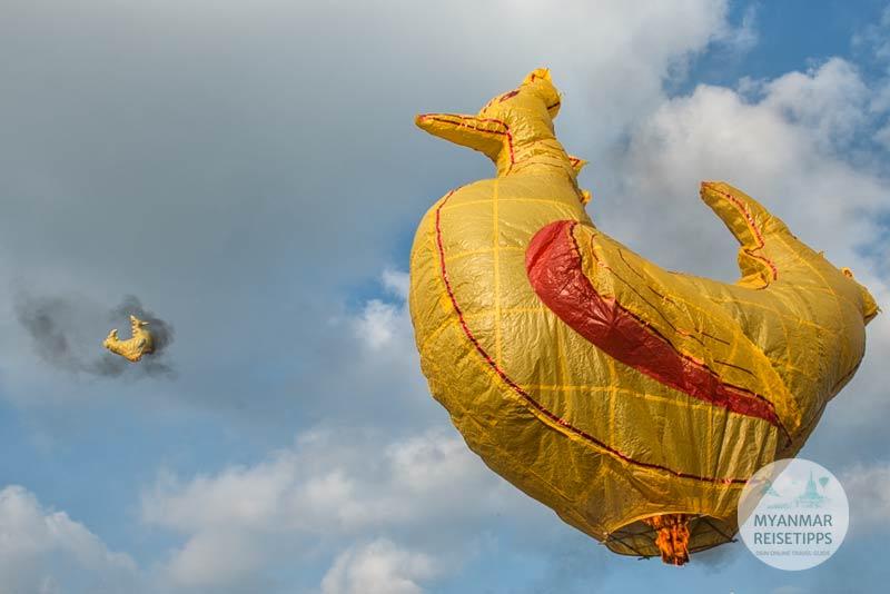 Myanmar Reisetipps | Ballonfestival in Pyin U Lwin