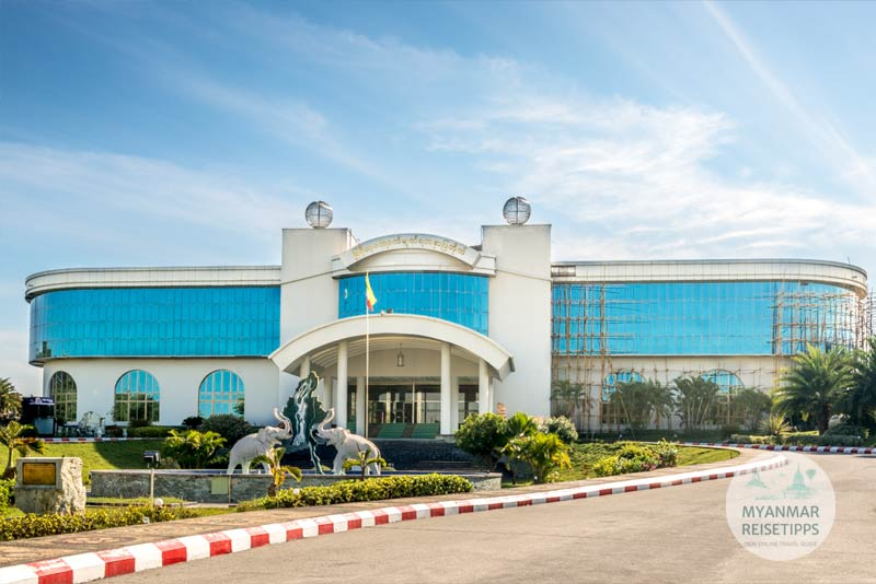 Myanmar Reisetipps | Naypyidaw | Gem Museum