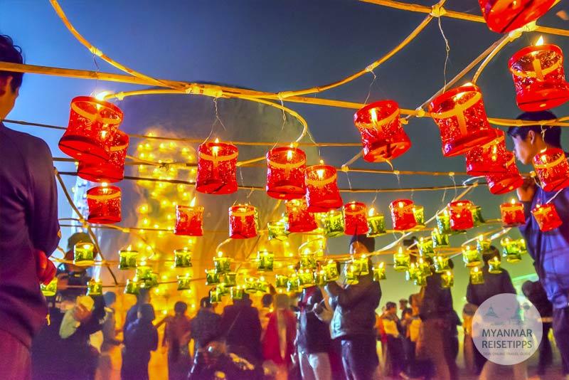 Myanmar Reisetipps   Balloon Festival in Pyin U Lwin
