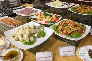 Myanmar Reisetipps | Naypyidaw | Frühstück im Hotel Myat Taw Win