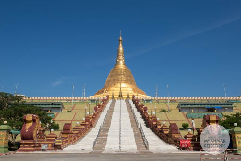 Myanmar Reisetipps | Naypyidaw | Uppatasanti-Pagode