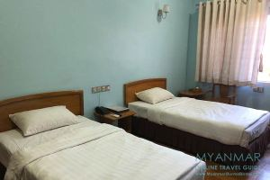 Myanmar Reisetipps | Pakokku | Zimmer im Hotel Juno