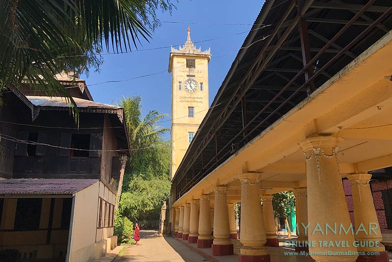 Myanmar Reisetipps | Pakokku | Mahawithutayama-Kloster