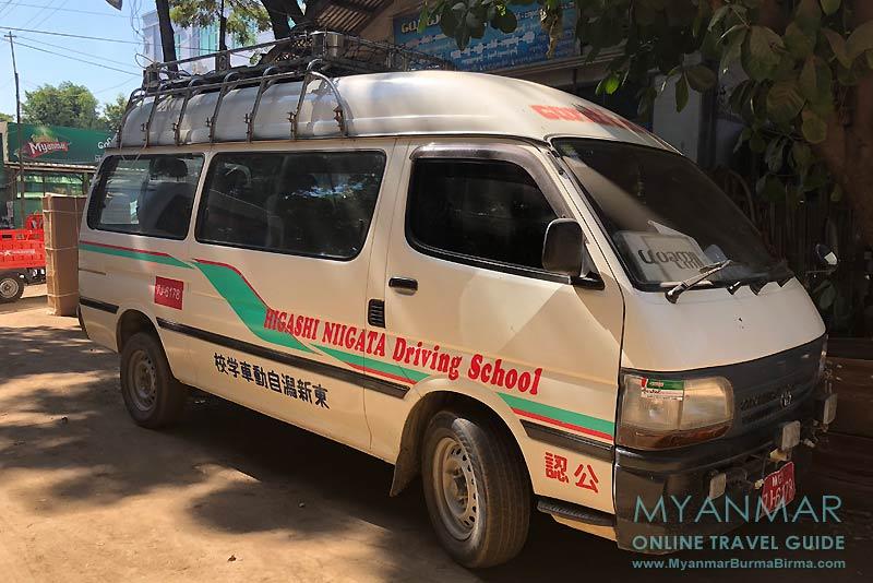 Myanmar Reisetipps | Pakokku | Minibus nach Mindat