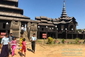 Myanmar Reisetipps | Pakokku | Teakholzkloster Kyaung Daw Gyi