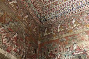 Myanmar Reisetipps | Pakokku | Wandmalerei in der Pagode Thihoshin