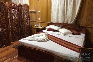 Myanmar Reisetipps | Pakokku | Bungalowzimmer im Thu Kha Hotel