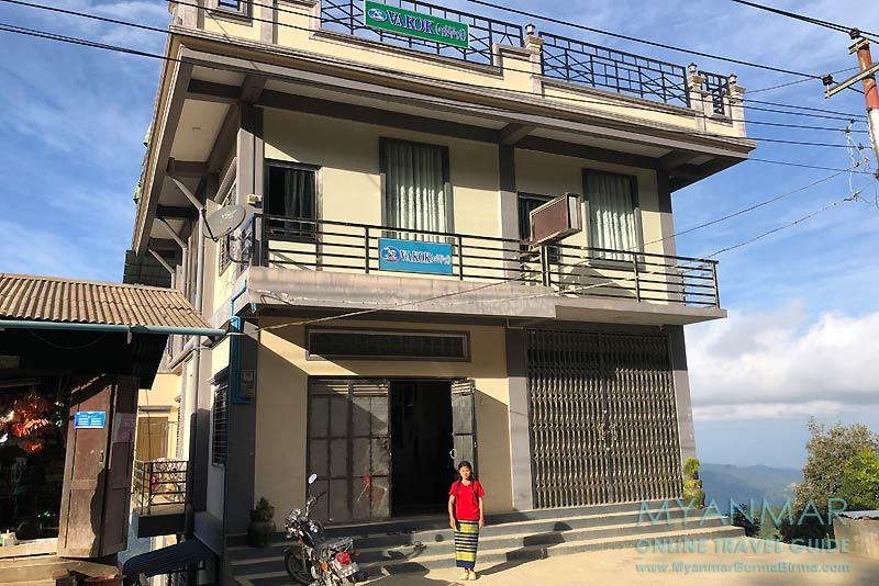 Myanmar Reisetipps | Mindat | Vakok Guesthouse