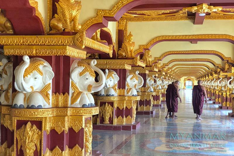 Myanmar Reisetipps | Umgebung von Ye | Liegender Buddha Tempelkomplex Ko Yin Lay