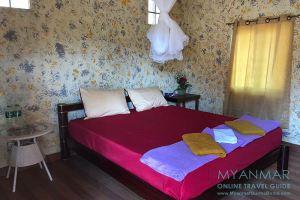 Myanmar Reisetipps | Stadt Ye | Doppelzimmer im Starlight Resort