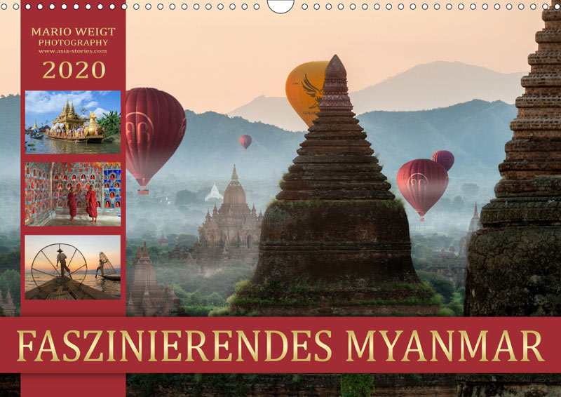 Wandkalender für 2020 | MYANMAR | Fotos: Mario Weigt