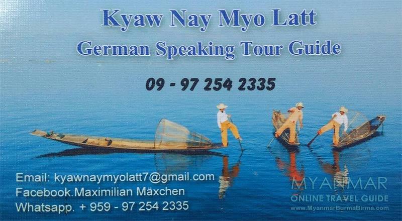 Myanmar Reisetipps   Taxifahrer, Guides, Reiseführer