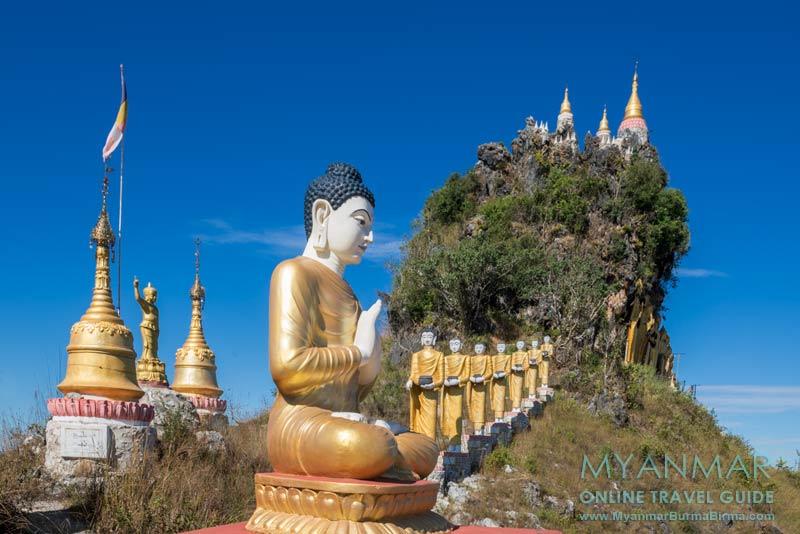 Myanmar Reisetipps | Umgebung von Kalaw | Brave Woman Mountain
