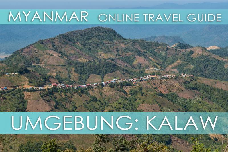 Tipps für die Umgebung von Kalaw in Myanmar