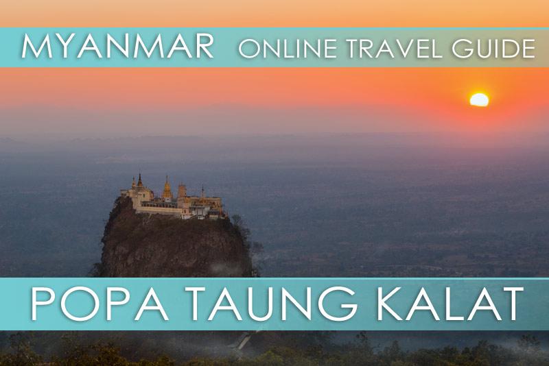 Tipps für den Mount Popa Taung Kalat in Myanmar