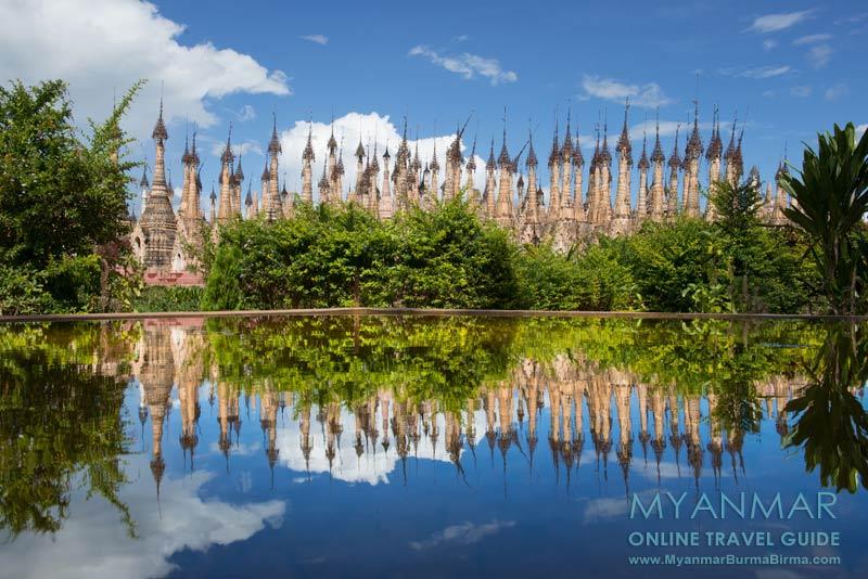 Myanmar Reisetipps | Kakku | Pagodenfeld