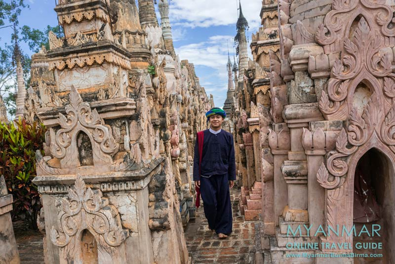 Myanmar Reisetipps | Kakku | Dieser junge Mann gehört zu dem Volk der Pa-O.