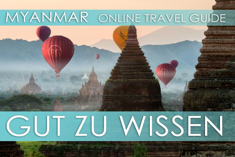 Allgemeine Reisetipps für Myanmar