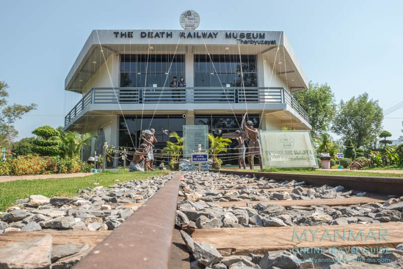Myanmar Reisetipps | Thanbyuzayat | The Death Railway Museum