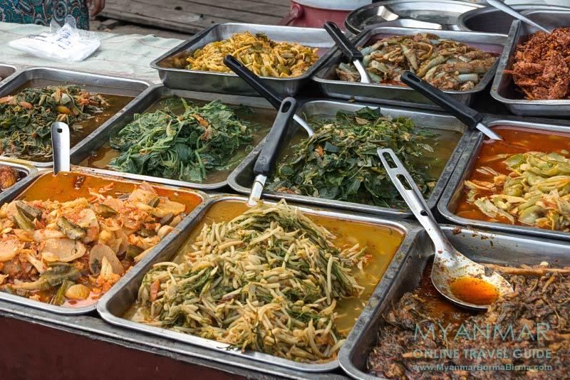 Myanmar Reisetipps | Thanbyuzayat | Burmesische Gerichte
