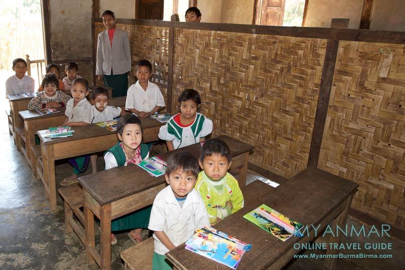 Myanmar Reisetipps | Gastgeschenke und Mitbringsel | Schule in Myitkyina