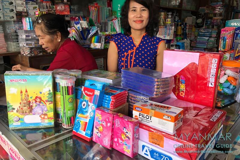 Myanmar Reisetipps | Gastgeschenke und Mitbringsel | Unser Einkauf