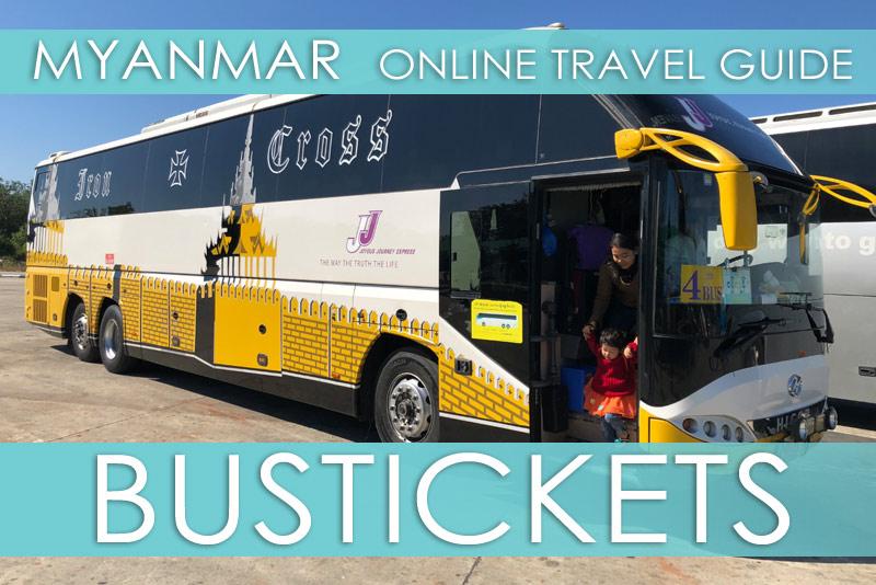 Tipps für Myanmar | Bustickets kaufen