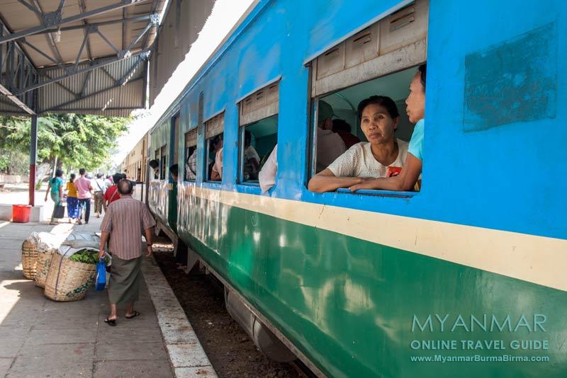 Myanmar Reisetipps   Yangon   Ringbahn (Circular Train)