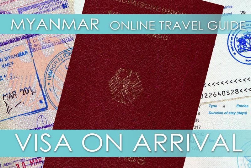 Tipps für Myanmar | Visa on Arrival