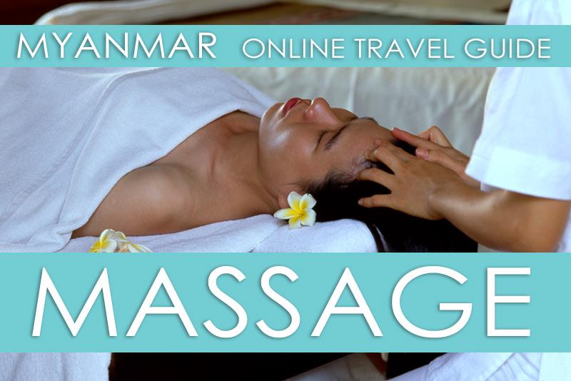 Tipps für Massagen in Myanmar